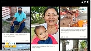 Telespectador na tela do Bom Dia Amazônia desta quinta-feira 12/11/2020 - Para participar envie sua foto para 99114-0924.