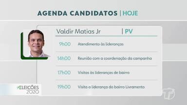 Eleições 2020: confira a agenda dos candidatos à prefeitura de Santarém - Confira mais sobre os compromissos dos candidatos na reta final da campanha.