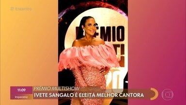 Veja os vencedores do 'Prêmio Multishow 2020' - Fernanda Gentil comenta os assuntos que estão em alta nas redes sociais e fala sobre corrente de apoio para a mulher e o filho do cineasta Cadu Barcellos que foi assassinado no Rio de Janeiro