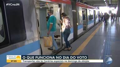 Eleições 2020: Saiba como estão últimos os preparativos para a votação no próximo domingo - Veja informações sobre o esquema de transporte e as mudanças adotadas por causa da pandemia.