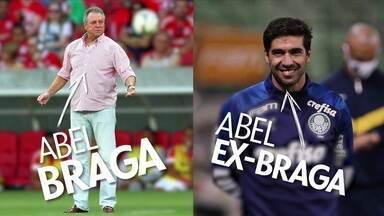 "Enquanto Abel Braga perde na estreia, Abel ""ex-Braga"" vence a terceira seguida - Enquanto Abel Braga perde na estreia, Abel ""ex-Braga"" vence a terceira seguida"