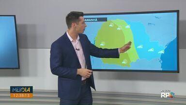 Veja como fica a previsão do tempo para os Campos Gerais nesta sexta-feira (13) - Região deve ter pancadas rápidas e isoladas de chuva.
