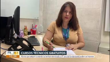 Inscrições abertas para cursos técnicos gratuitos em quatro cidades da região - Capacitação será feita junto com o Ensino Médio. Na região, há vagas em Barra do Piraí, Barra Mansa, Resende e Volta Redonda.
