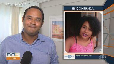 Jovem que desapareceu após fugir de unidade onde estava internada é encontrada - Adolescente, mora no bairro de Pau Miúdo e já está em casa.