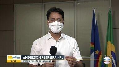 Reeleito em Jaboatão, Anderson Ferreira diz que tinha 'convicção no resultado positivo' - Anderson Ferreira (PL) recebeu 54,26% dos votos válidos.