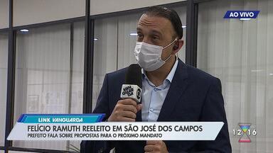 Felício Ramuth é reeleito em São José dos Campos - Prefeito fala sobre propostas para o próximo mandato.