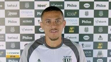 João Paulo aceita transferência para o Fortaleza e deixa a Ponte Preta - Meio-campo é um dos principais jogadores da equipe e se destacou no último Campeonato Paulista com 10 gols.