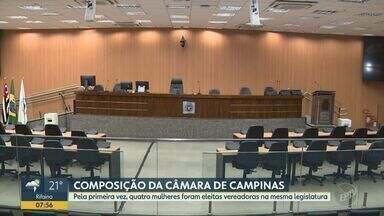 Pela primeira vez, quatro mulheres foram eleitas vereadoras no mesmo mandato em Campinas - Índice de renovação de vereadores na Câmara de Campinas (SP) foi de 48% nesta eleição.