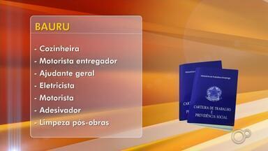 Cidades do centro-oeste paulista têm quase 280 vagas de trabalho abertas - O mercado de trabalho no centro-oeste paulista abre a semana com 275 vagas de emprego oferecidas nas maiores cidades da região.