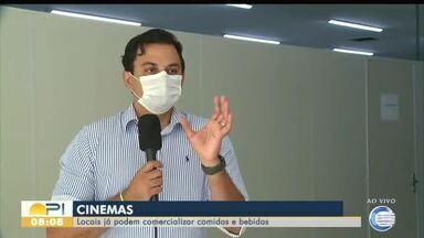 Decreto municipal autoriza reabertura de Cinemas em Teresina - Decreto municipal autoriza reabertura de Cinemas em Teresina