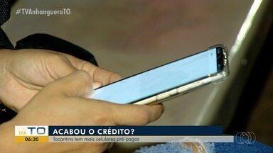 Consumidores tocantinenses ainda optam por celulares pré-pago, aponta pesquisa da Anatel - Consumidores tocantinenses ainda optam por celulares pré-pago, aponta pesquisa da Anatel