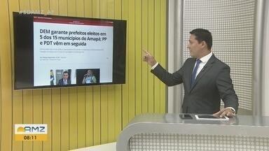 G1: DEM garante prefeitos eleitos em 5 de 15 municípios do Amapá; PP e PDT vêm em seguida - G1: DEM garante prefeitos eleitos em 5 de 15 municípios do Amapá; PP e PDT vêm em seguida