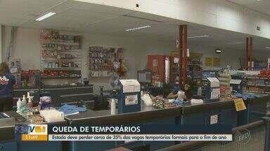 Número de vagas temporárias de fim de ano cai 35% no Estado de São Paulo - Reflexo da pandemia, comércio faz projeção otimista para vendas até dezembro, mas empregos diminuíram em comparação a outubro e novembro do ano passado.
