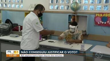Não votou? RJ1 explica como justificar a ausência nas eleições - Mais de 270 mil eleitores não compareceram às urnas na região.