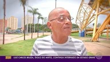 Luiz Carlos Beleza, ídolo do Mixto, sofre AVC - Luiz Carlos Beleza, ídolo do Mixto, sofre AVC.