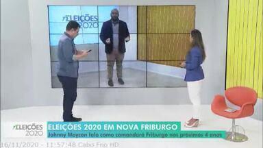Johnny Maycon fala como comandará Nova Friburgo, RJ, nos próximos quatro anos - Veja a entrevista.