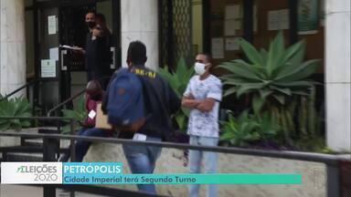 Em Petrópolis, Rubens Bomtempo e Bernardo Rossi se enfrentam no 2º turno - Rubens Bomtempo teve 27,37% dos votos dados a todos os candidatos e Bernardo Rossi, 16,75%. Os dois vão decidir a eleição no dia 29 de novembro.