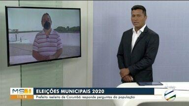 Prefeito de Corumbá responde perguntas da população - Marcelo Lunes falou sobre concursos públicos, saúde, infraestrutura e projetos de revitalização na cidade