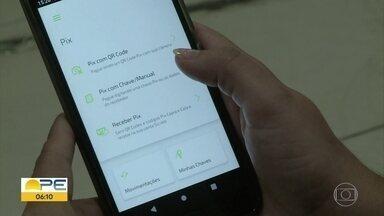 Moradores de Petrolina aprovam uso do Pix - Nova forma de pagamento entrou em funcionamento na segunda-feira (16).