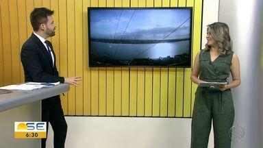 Michele Costa fala sobre a previsão do tempo para Sergipe - Michele Costa fala sobre a previsão do tempo para Sergipe.