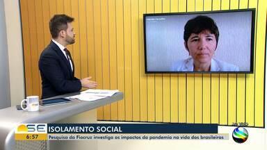 Pesquisa investiga os impactos da pandemia na vida dos brasileiros - Pesquisa investiga os impactos da pandemia na vida dos brasileiros.