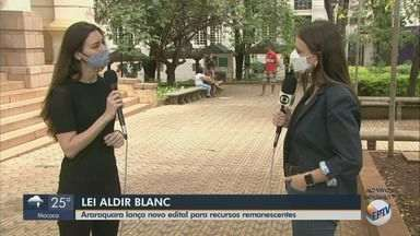 Araraquara lança novo edital para recursos remanescentes da Lei Aldir Blanc - Inscrições vão até o dia 24.