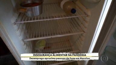 Famílias perdem renda durante a pandemia e sofrem com o drama da fome na capital - Reportagem especial do Profissão Repórter mostra as dificuldades do dia-a-dia de quem está com a geladeira vazia.