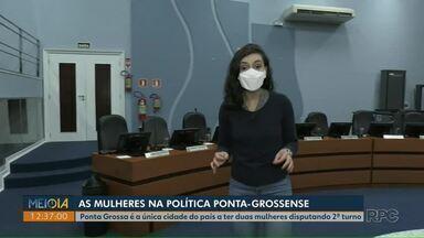 Ponta Grossa é a única cidade do Brasil que terá duas mulheres na disputa do 2º turno - Representatividade feminina também cresceu na Câmara Municipal em relação ao último mandato.