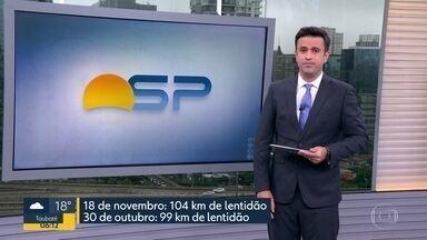 São Paulo registra recorde de congestionamento - Índice foi de 104 km às cinco da tarde de ontem.
