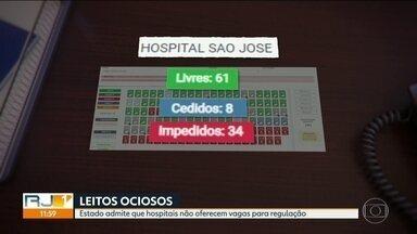 Estado admite que hospitais não oferecem vagas para internação de Covid - Agora a determinação é para que esses hospitais voltem a receber pacientes