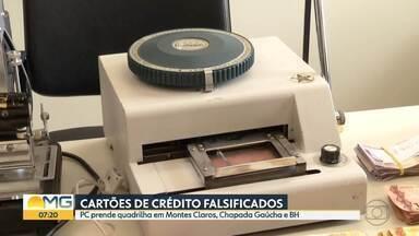 PC prende quadrilha em Montes Claros, Chapada Gaúcha e BH - Suspeitos falsificavam cartões.