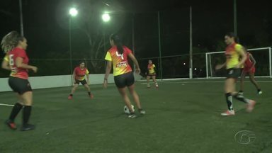Equipes se preparam para o Campeonato Alagoano Feminino de Futebol de 7 de 2020 - Seis times irão disputar o título da competição que começa no próximo domingo.