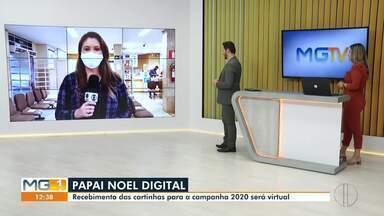 Papai Noel digital: Recebimento de cartinhas para campanha 2020 será digital - Crianças com até dez anos podem participar da campanha.