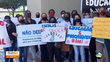 Governador de Sergipe diz que aulas não devem ser retomadas completamente em 2020 - Governador de Sergipe diz que aulas não devem ser retomadas completamente em 2020.