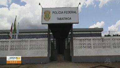 Homem suspeito de tentar assaltar policial federal é preso em Tabatinga, no AM - Caso ocorreu na noite de ontem.
