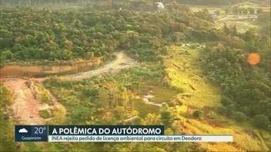 Inea não aceita pedido de licença ambiental para Autódromo de Deodoro - Empresa que quer construir circuito na Floresta do Camboatá terá que mandar mais informações para órgãos ambientais.