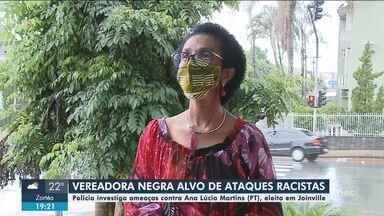 Vereadora negra eleita é alvo de ataque racistas e ameaças - Vereadora negra eleita é alvo de ataque racistas e ameaças