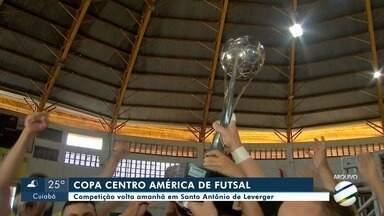 Copa Centro América de Futsal começa nesta sexta-feira - Copa Centro América de Futsal começa nesta sexta-feira