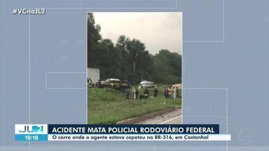 Policial rodoviário federal morre em acidente de carro no Pará - Policial rodoviário federal morre em acidente de carro no Pará
