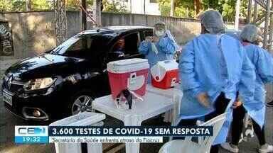 Ceará enfrenta demora no resultado de 3.600 testes para covid-19 - Saiba mais em g1.com.br/ce