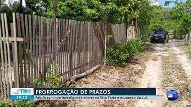 Polícia pede prorrogação de prazo para continuar investigações de duas mortes em Santarém - Mortes aconteceram na comunidade Areia Branca, no Eixo Forte, e ocupação do Juá.