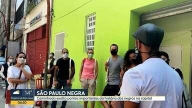 Caminhada pelo Centro resgata história dos negros em São Paulo - Tour passa por 10 pontos de São Paulo que têm relação com a história da população negra em SP