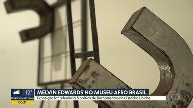 Museu Afro Brasil abre exposição de Melvin Edwards - Mostra faz referência à prática de linchamento contra os negros nos Estados Unidos.
