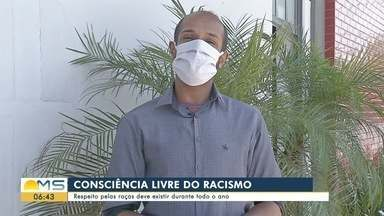 Defensoria Pública e repórteres da TV Morena falam sobre Dia da Consciência Negra - Defensoria Pública e repórteres da TV Morena falam sobre Dia da Consciência Negra.