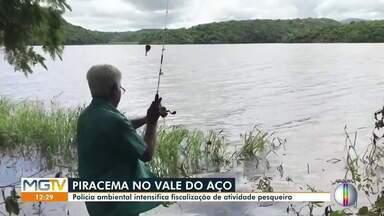 Polícia Ambiental intensifica fiscalização de atividade pesqueira - Ações fazem parte da Piracema, época de reprodução dos peixes.