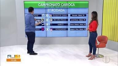 Confira os jogos dos times do interior neste fim de semana - Tem a rodada importante da B1 do Carioca.