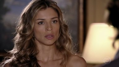 Ester é intimada a depor contra Cassiano - Alberto avisa à mulher que ela é testemunha da agressão contra ele e aproveita para falar mal do rival para Samuca