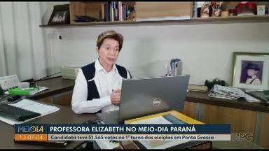 Perfil: Conheça Professora Elizabeth (PSD), candidata à Prefeitura de Ponta Grossa - Ela teve 51.565 votos no 1° turno das eleições.