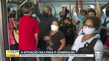 Estação Grajaú é a mais movimentada da Linha 9-Esmeralda da CPTM - BDSP mostrou o movimento no transporte da zona sul na manhã desta quarta-feira.