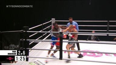 Jake Paul x Nate Robinson pelo peso-cruzador do boxe internacional - Jake Paul x Nate Robinson pelo peso-cruzador do boxe internacional